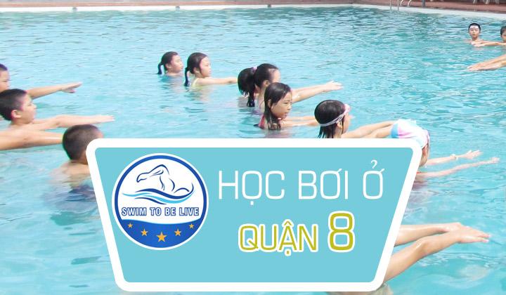 học bơi ở quận 8