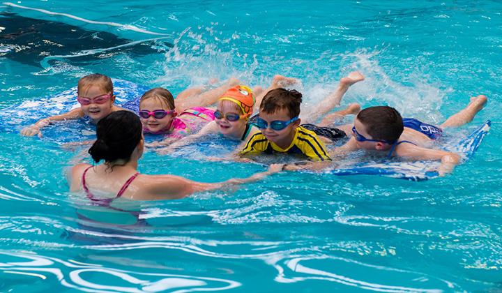 học bơi quận 4