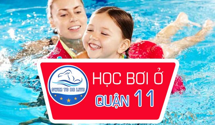 học bơi ở quận 11