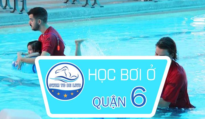 học bơi ở quận 6